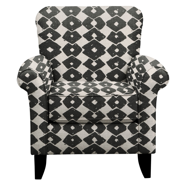 Tracy Chair w/ Beechwood Granite Fabric