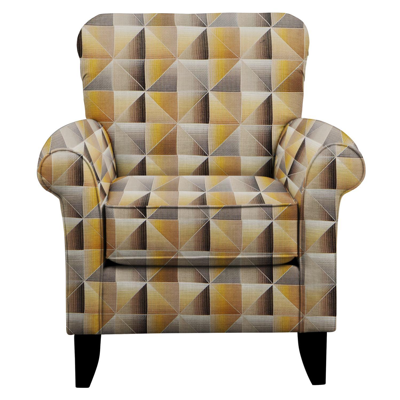 Tracy Chair w/ Immortal Lemoncello Fabric
