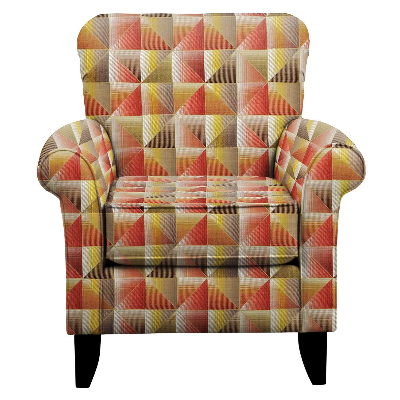 Tracy Chair w/ Immortal Sienna Fabric
