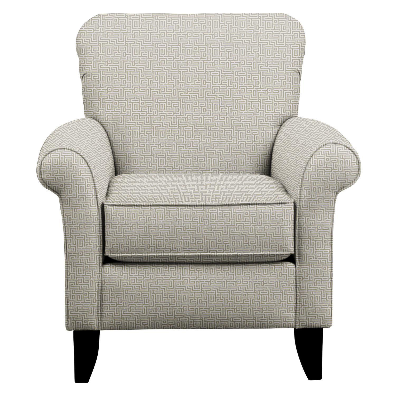 Tracy Chair w/ Interlochen Slate Fabric