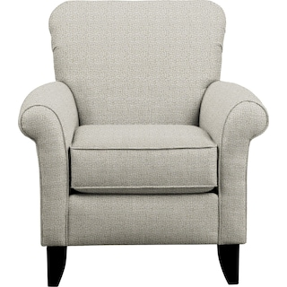 Tracy Chair w/ Interlochen Slate Fabric