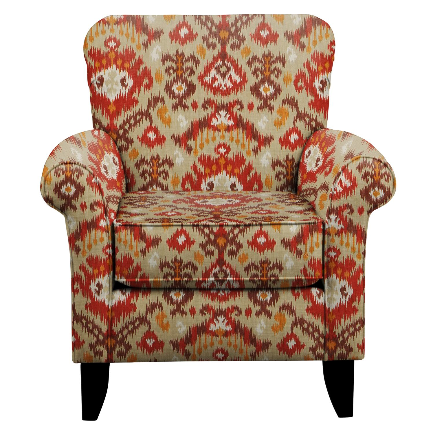 Tracy Chair w/ Blurred Lines Sante Fe Fabric