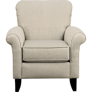 Tracy Chair w/ Polo Linen Fabric
