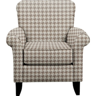 Tracy Chair w/ Watson Putty Fabric
