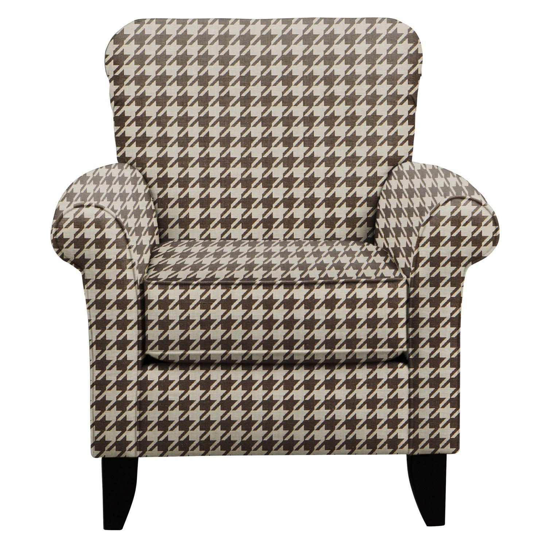 Tracy Chair w/ Watson Chocolate Fabric
