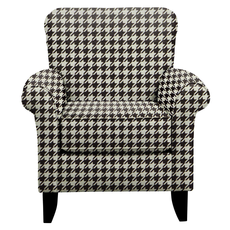 Tracy Chair w/ Watson Tuxedo Fabric
