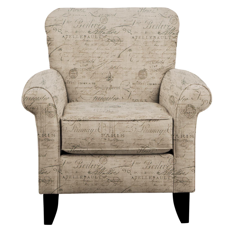 Tracy Chair w/ Seine Gray Fabric