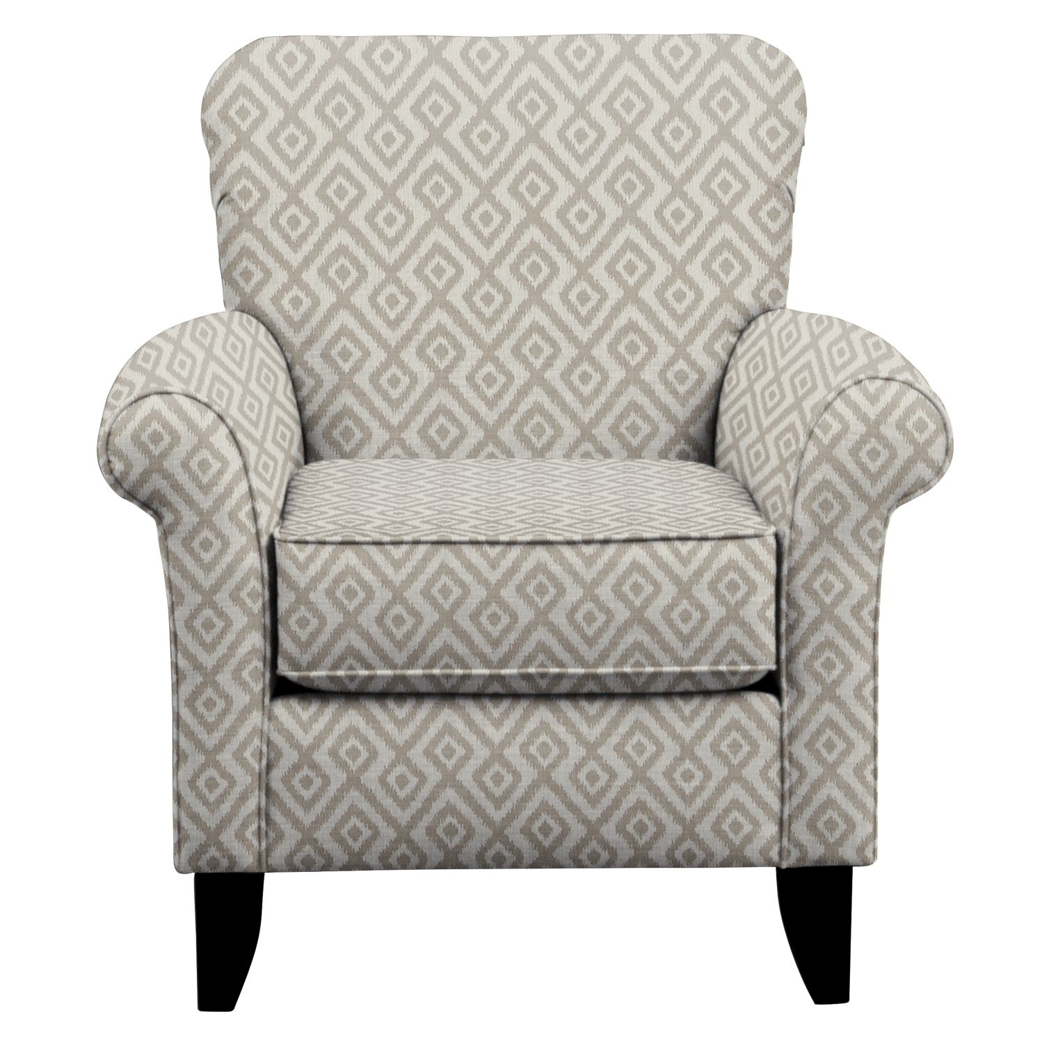 Living Room Furniture - Tracy Chair w/ Tate Dove Fabric