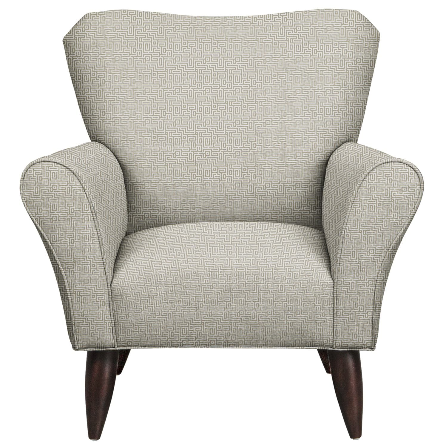 Living Room Furniture - Jessie Chair w/ Interlochen Slate Fabric