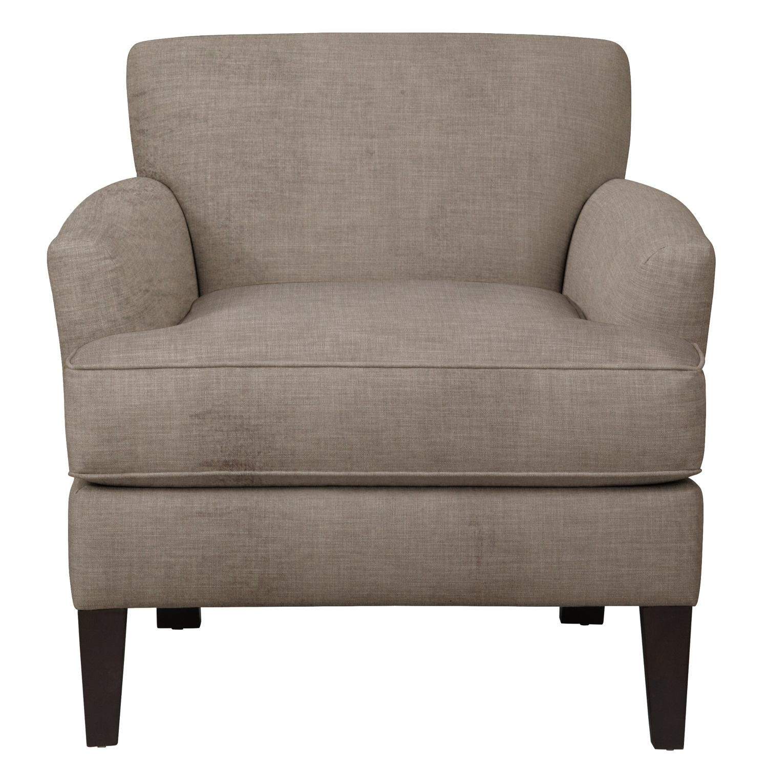 Living Room Furniture - Marcus Chair w/ Oakley III Granite Fabric