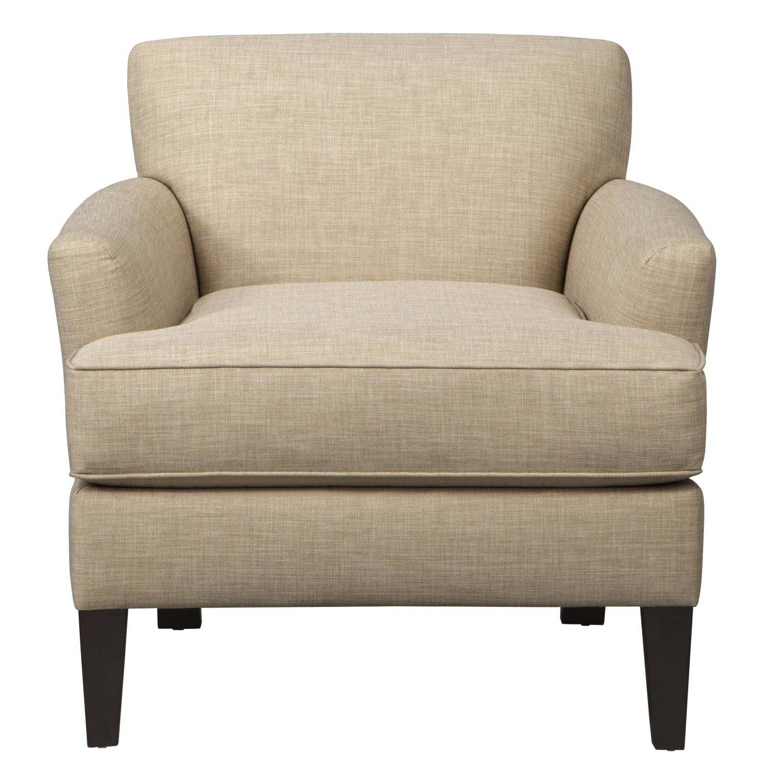 Living Room Furniture - Marcus Chair w/ Milford II Toast Fabric