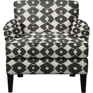 Marcus Chair w/ Beechwood Granite Fabric