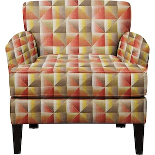 Marcus Chair w/ Immortal Sienna Fabric