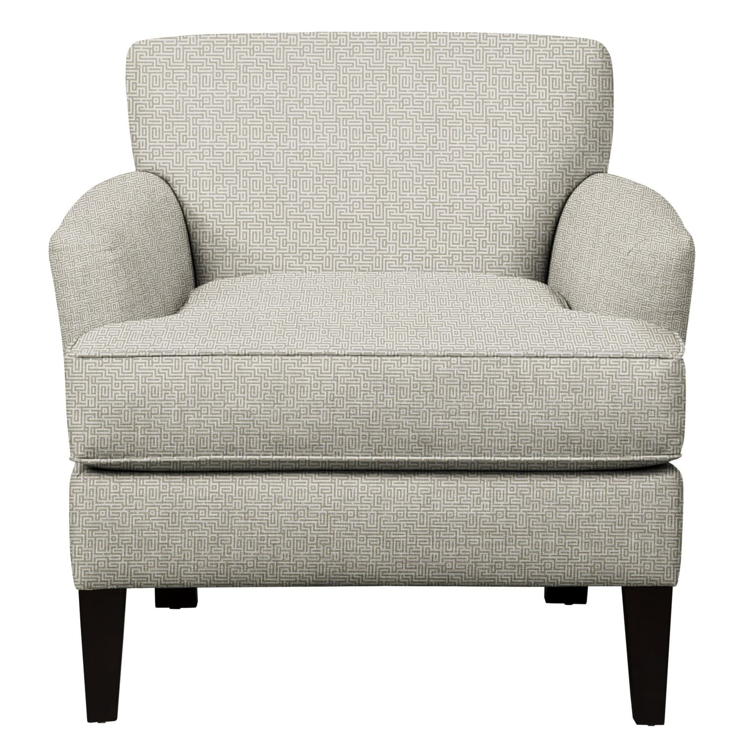 Living Room Furniture - Marcus Chair w/ Interlochen Slate Fabric