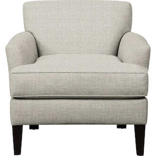 Marcus Chair w/ Interlochen Slate Fabric