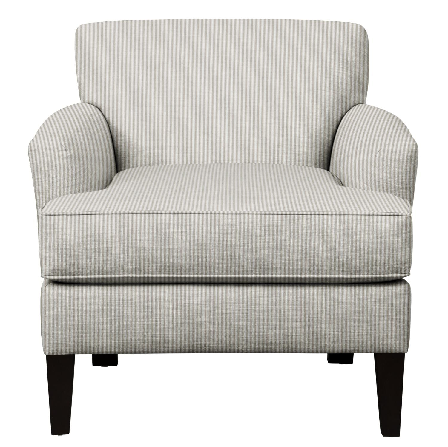 Living Room Furniture - Marcus Chair w/ Polo Storm Fabric