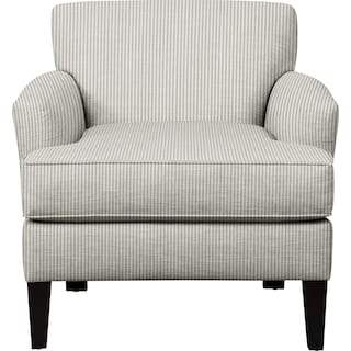 Marcus Chair w/ Polo Storm Fabric