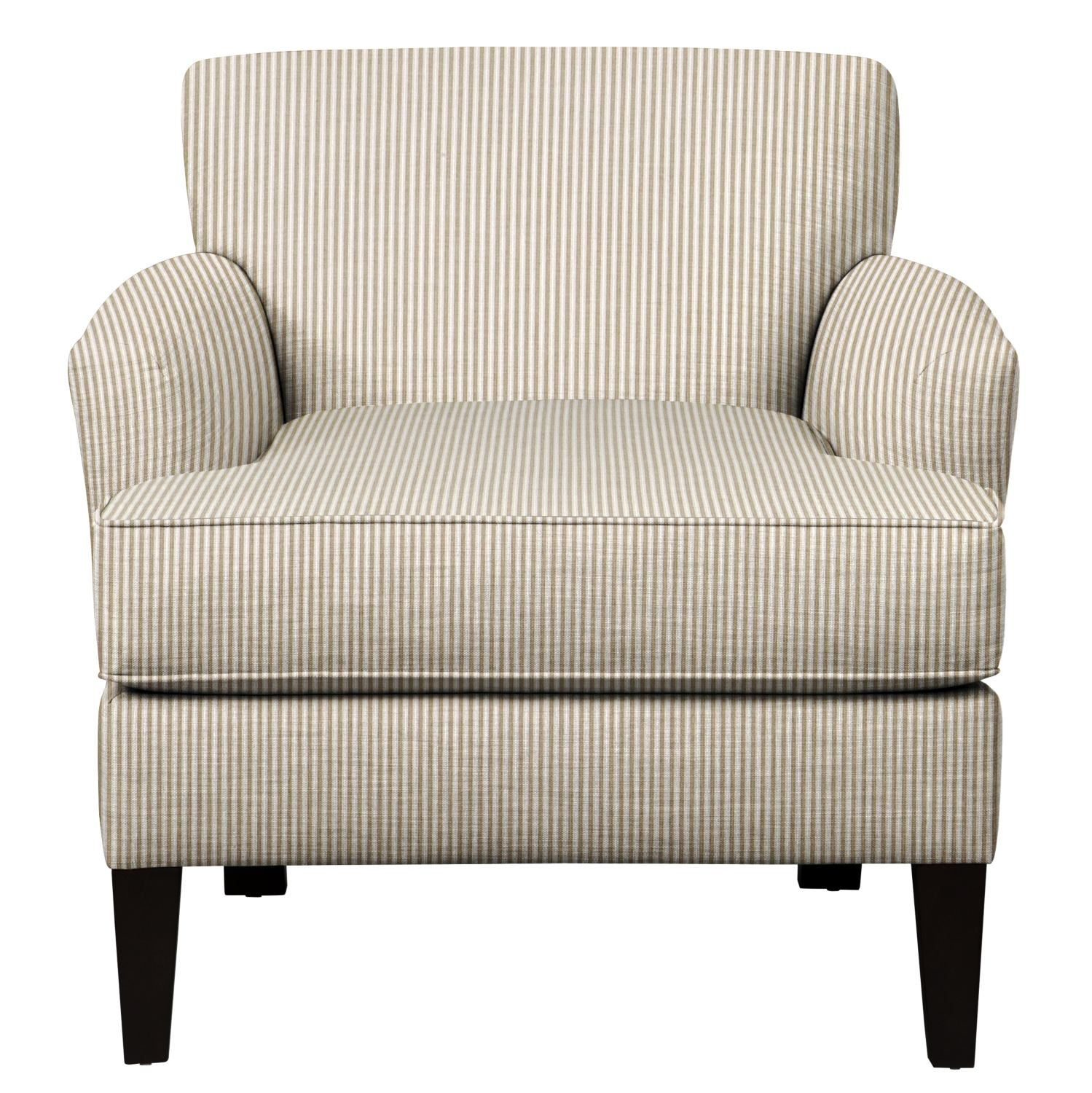 Living Room Furniture - Marcus Chair w/ Polo Linen Fabric