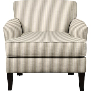 Marcus Chair w/ Polo Linen Fabric
