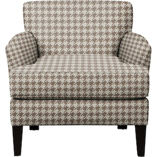 Marcus Chair w/ Watson Putty Fabric