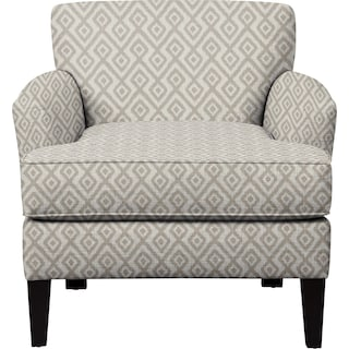 Marcus Chair w/ Tate Dove Fabric