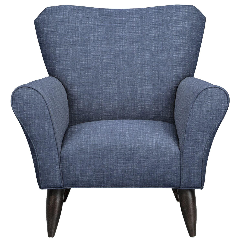 Jessie Chair w/ Depalma Ink Fabric