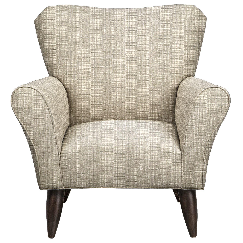 Jessie Chair w/ Depalma Taupe Fabric