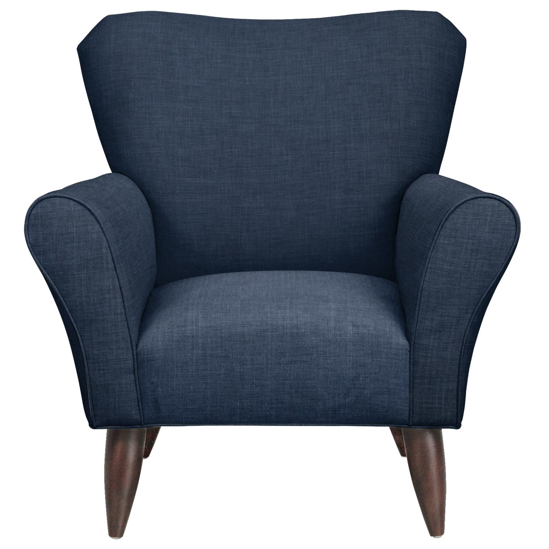 Jessie Chair w/ Oakley III Ink Fabric
