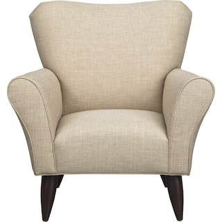 Jessie Chair w/ Milford II Toast Fabric