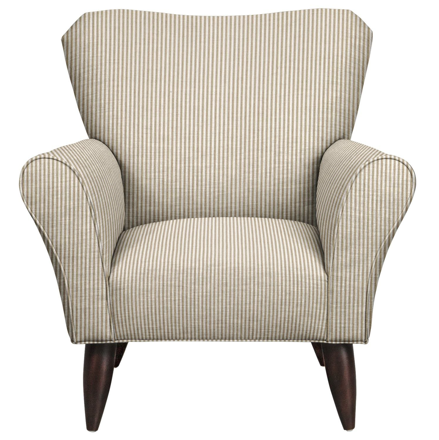 Living Room Furniture - Jessie Chair w/ Polo Linen Fabric