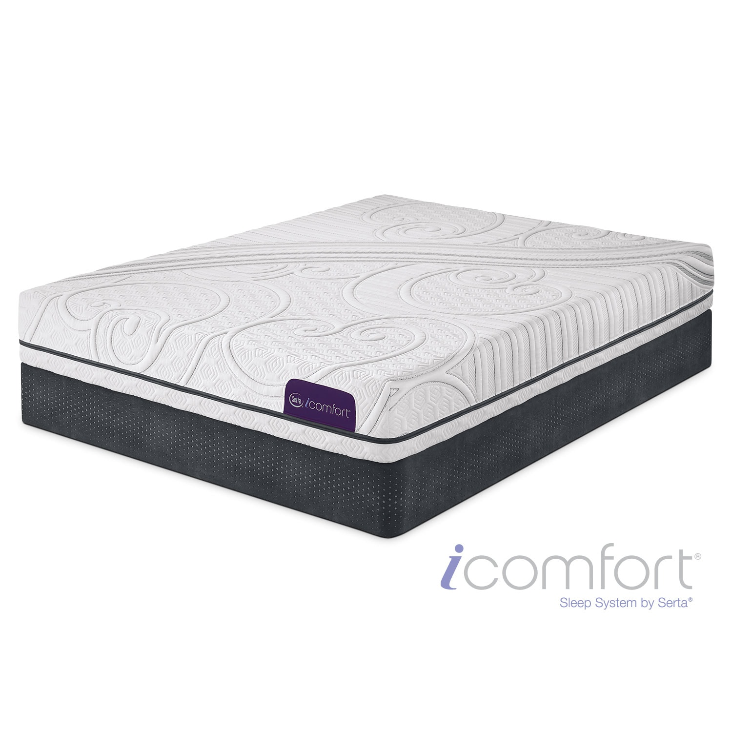 Mattresses and Bedding - Foresight Firm Twin Mattress and Foundation Set