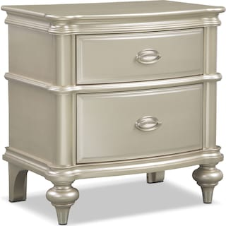 Esquire Nightstand - Platinum