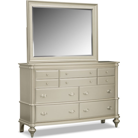 Signature Collection Furniture: The Esquire Bedroom Collection - Platinum