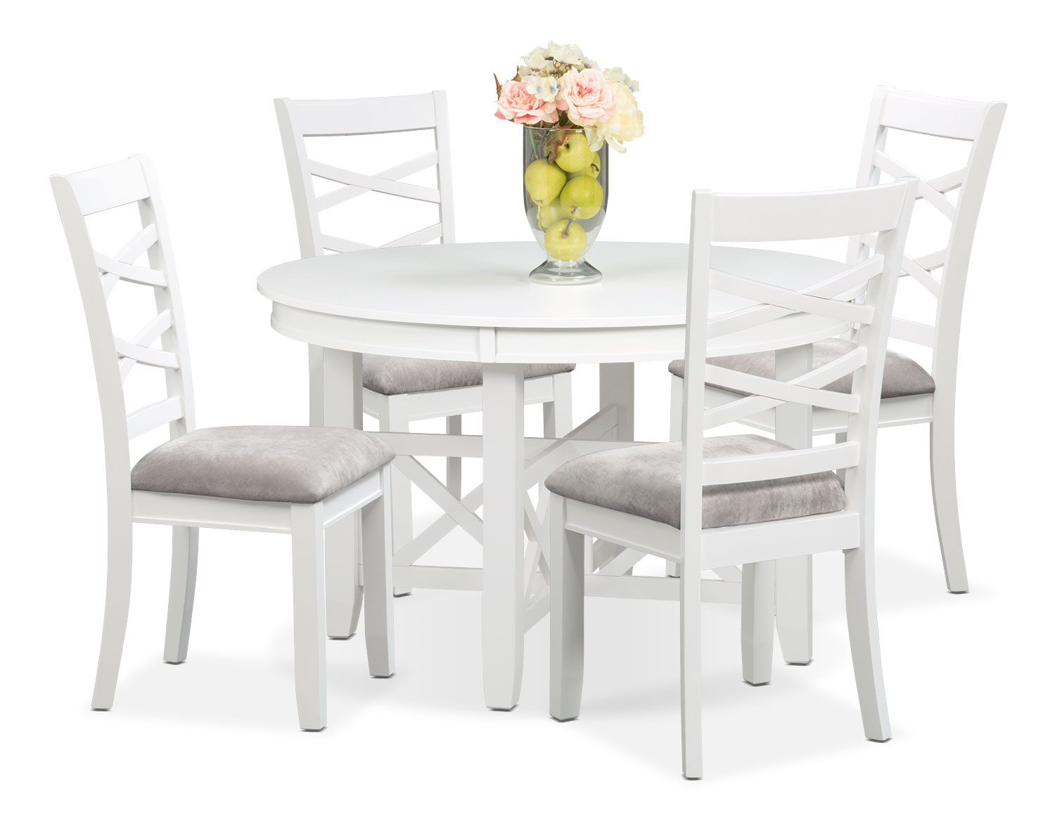 The Americana White Dinette Collection