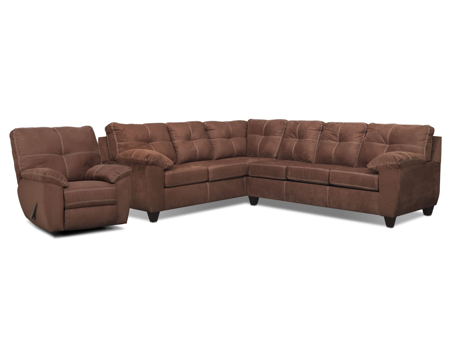 The Rialto Coffee Sectional Collection
