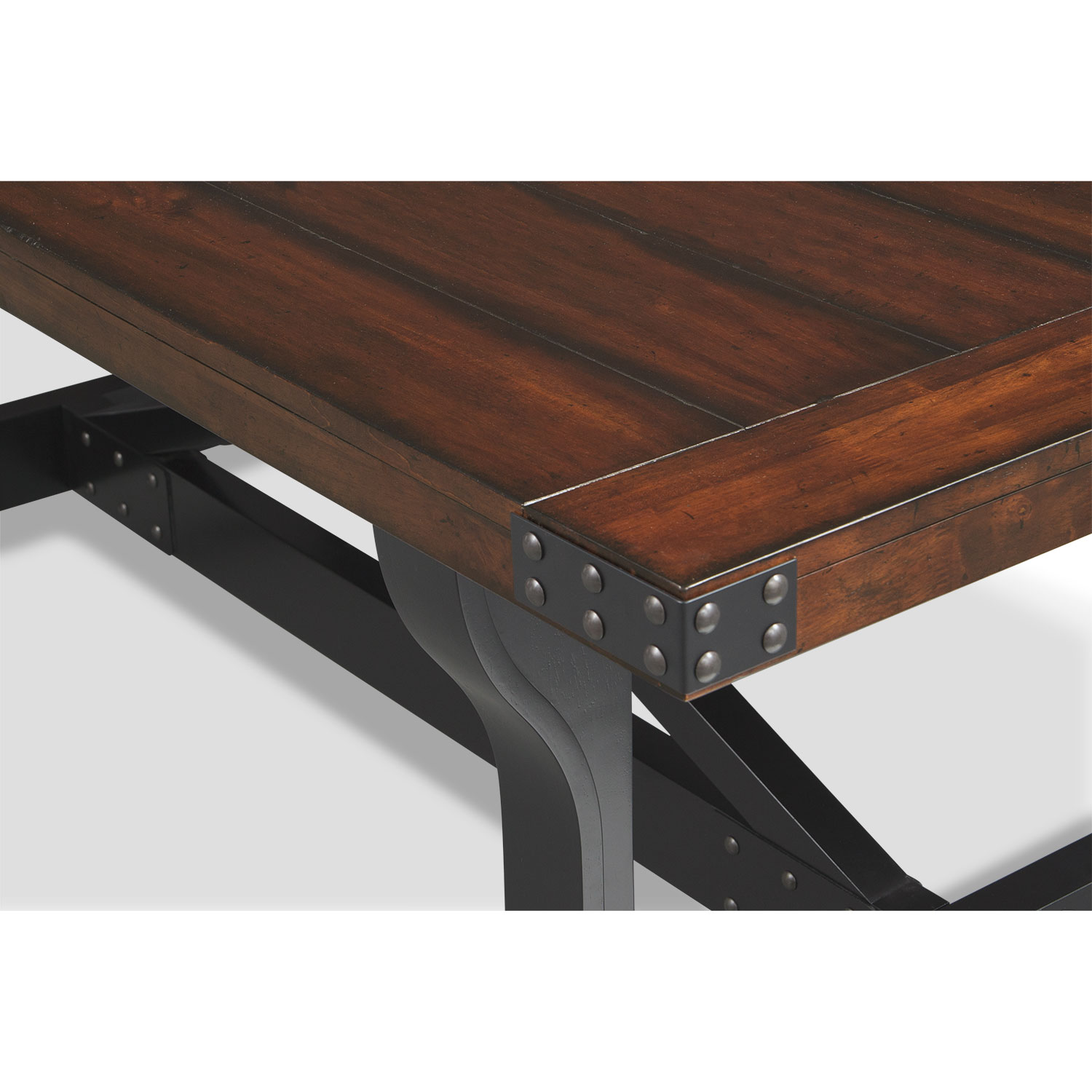 Click to change image. - Newcastle Dining Table - Mahogany American Signature Furniture