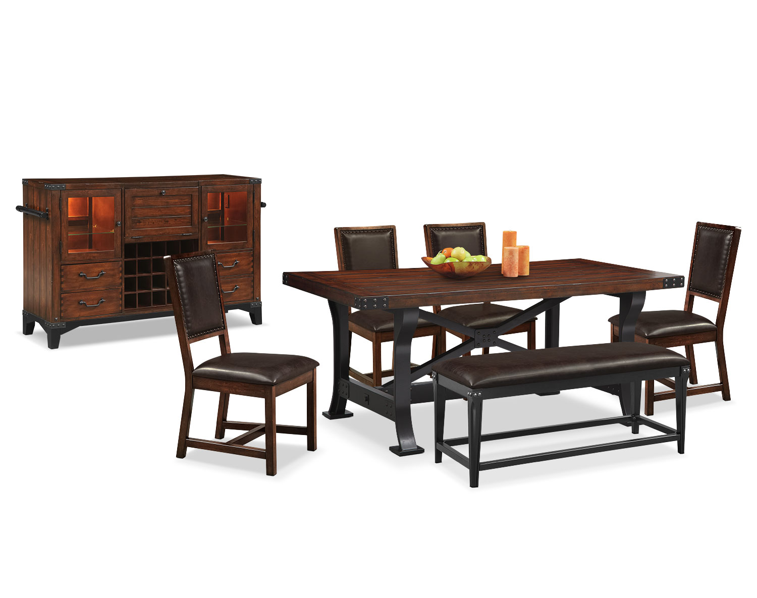The Newcastle Standard-Height Collection - Mahogany