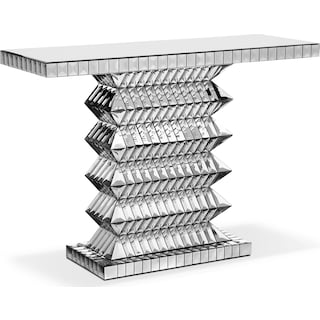 Aurora Sofa Table - Clear