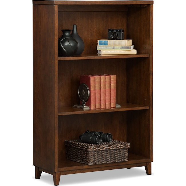 "Home Office Furniture - Oslo 46"" Bookcase - Cherry"