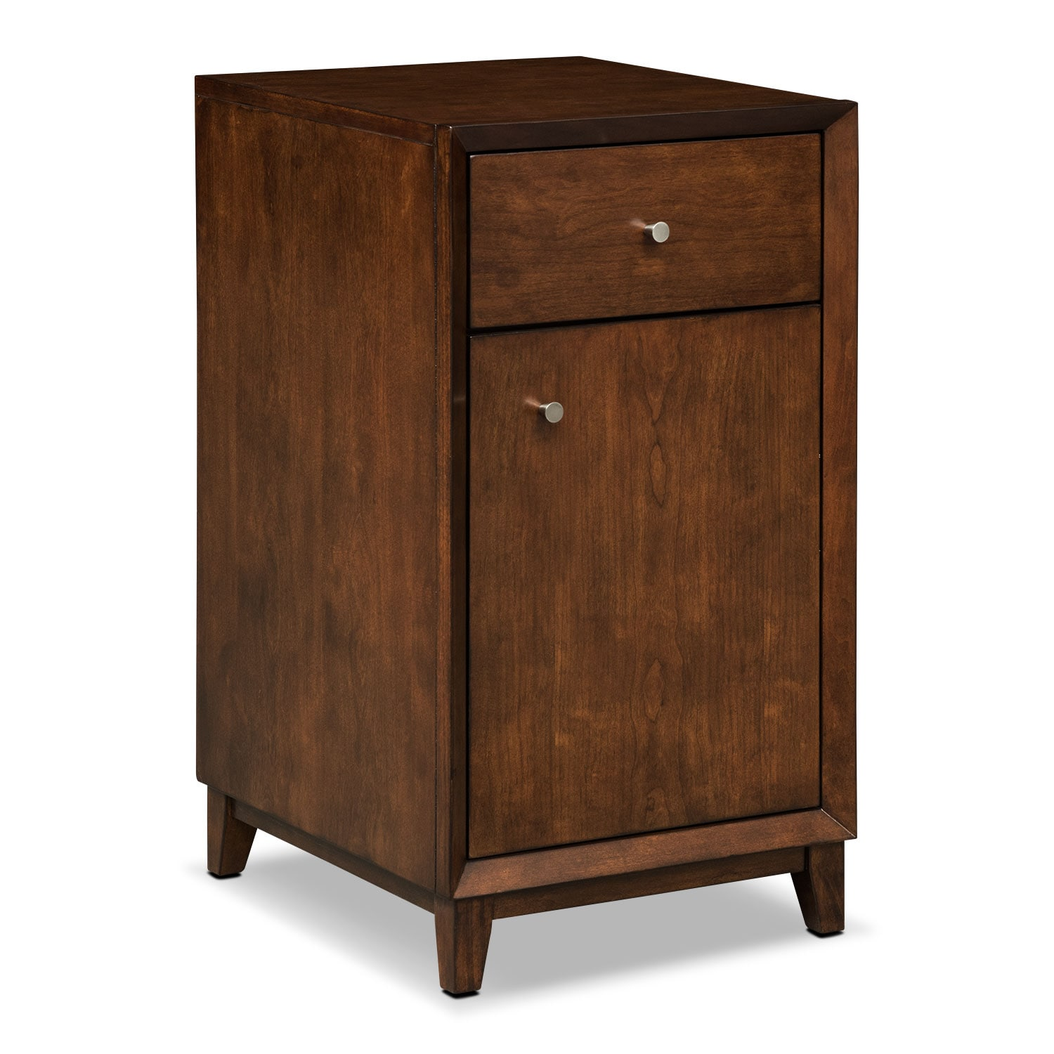 Oslo Cherry Door File Cabinet