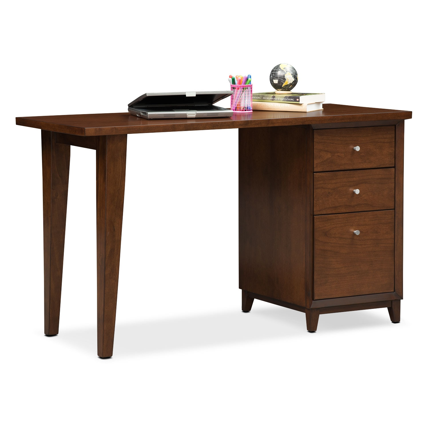Home Office Furniture - Oslo Cherry Laptop Desk