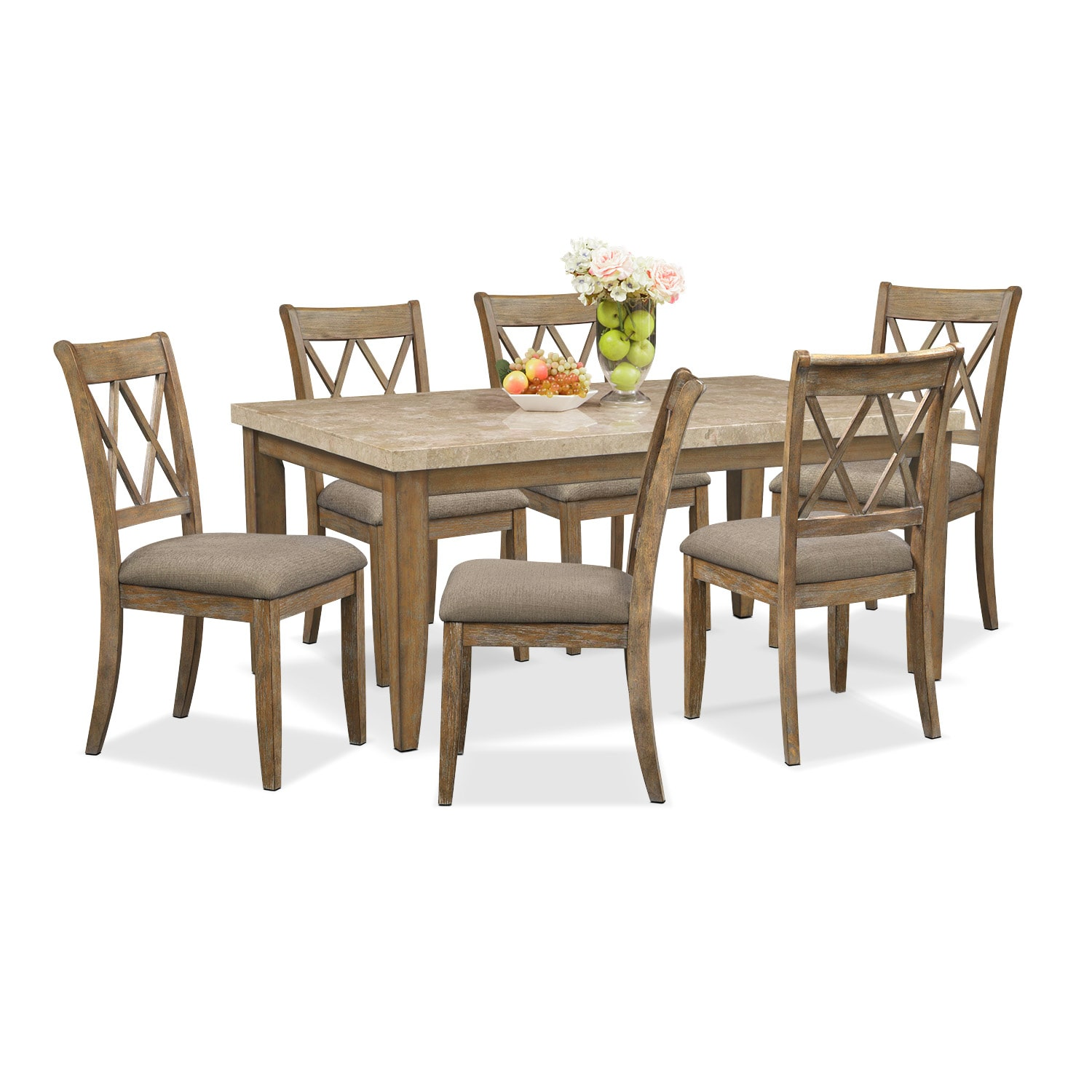 Sedona Gray 7 Pc. Dining Room