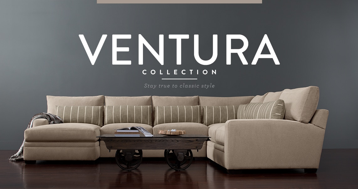 Shop the Venture Sectional Collection