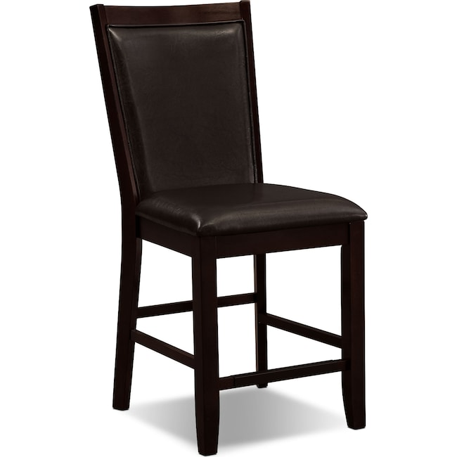 Dining Room Furniture - Paragon Counter-Height Chair - Brown
