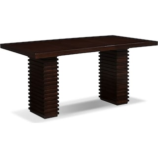 Paragon Counter-Height Table - Merlot