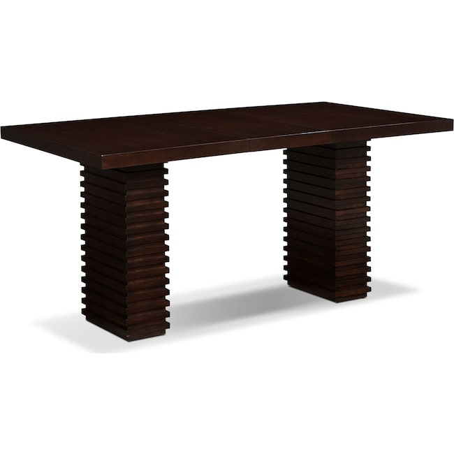 Dining Room Furniture - Paragon Counter-Height Table - Merlot