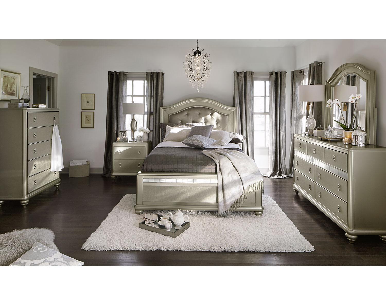 The Serena Collection - Platinum | American Signature Furniture
