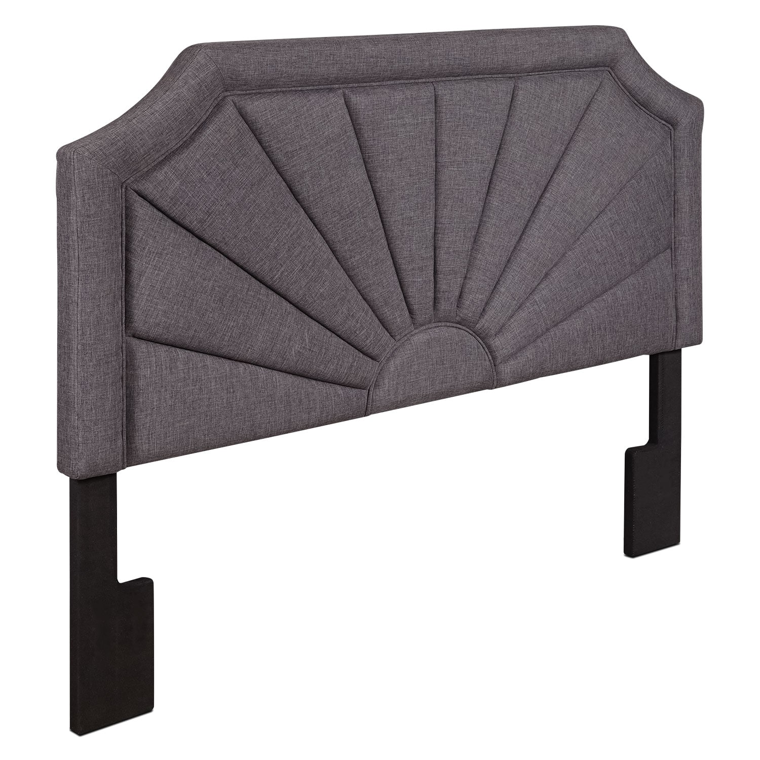 Bedroom Furniture - Tinley King Headboard - Gray