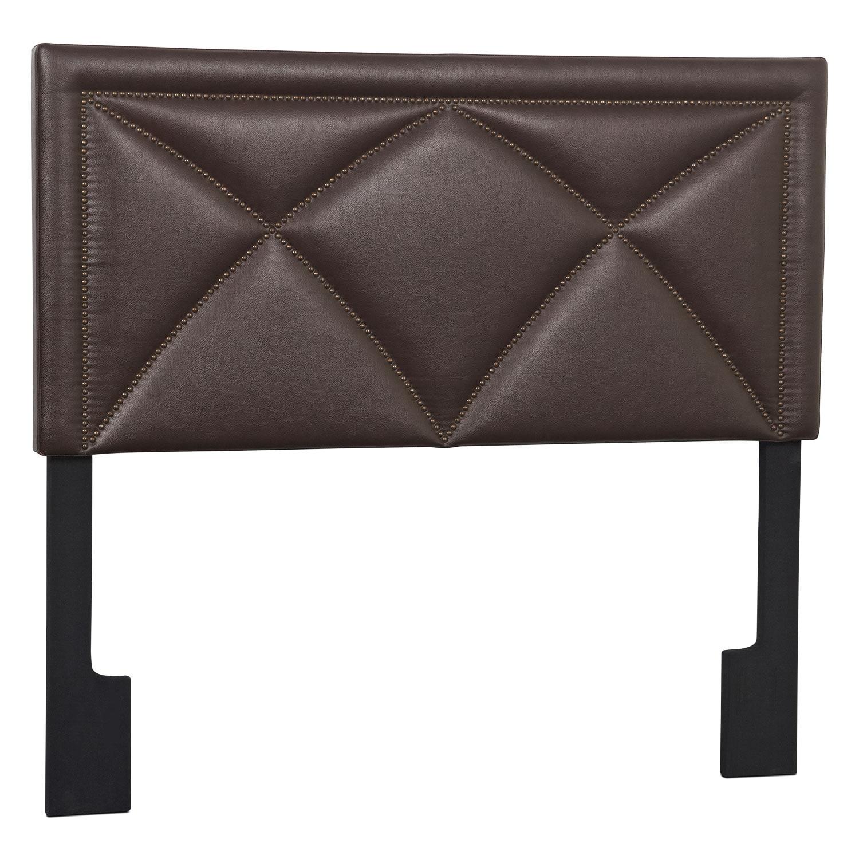 Bedroom Furniture - Keegan Queen Headboard - Brown