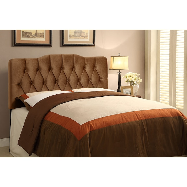 Bedroom Furniture - Quinn King Upholstered Headboard